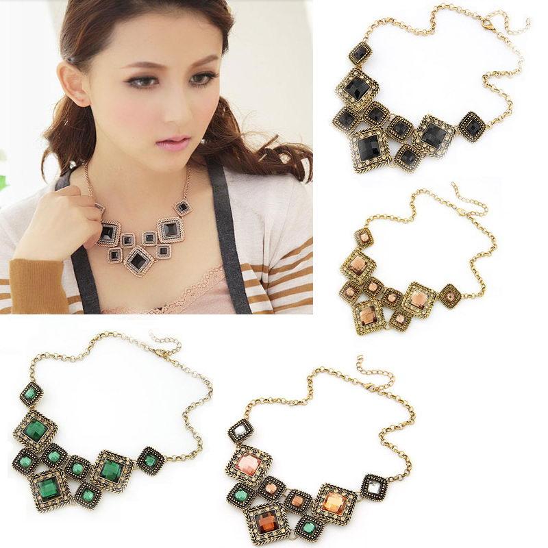 New Beauty Fashion Jewelry Hot Sell Necklace Gift Pendant Wedding Imitation Rinestone Girl