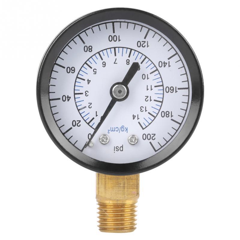 0 200psi 0 14kgf/cm Pressure Gauge Manometer for Water Air ...