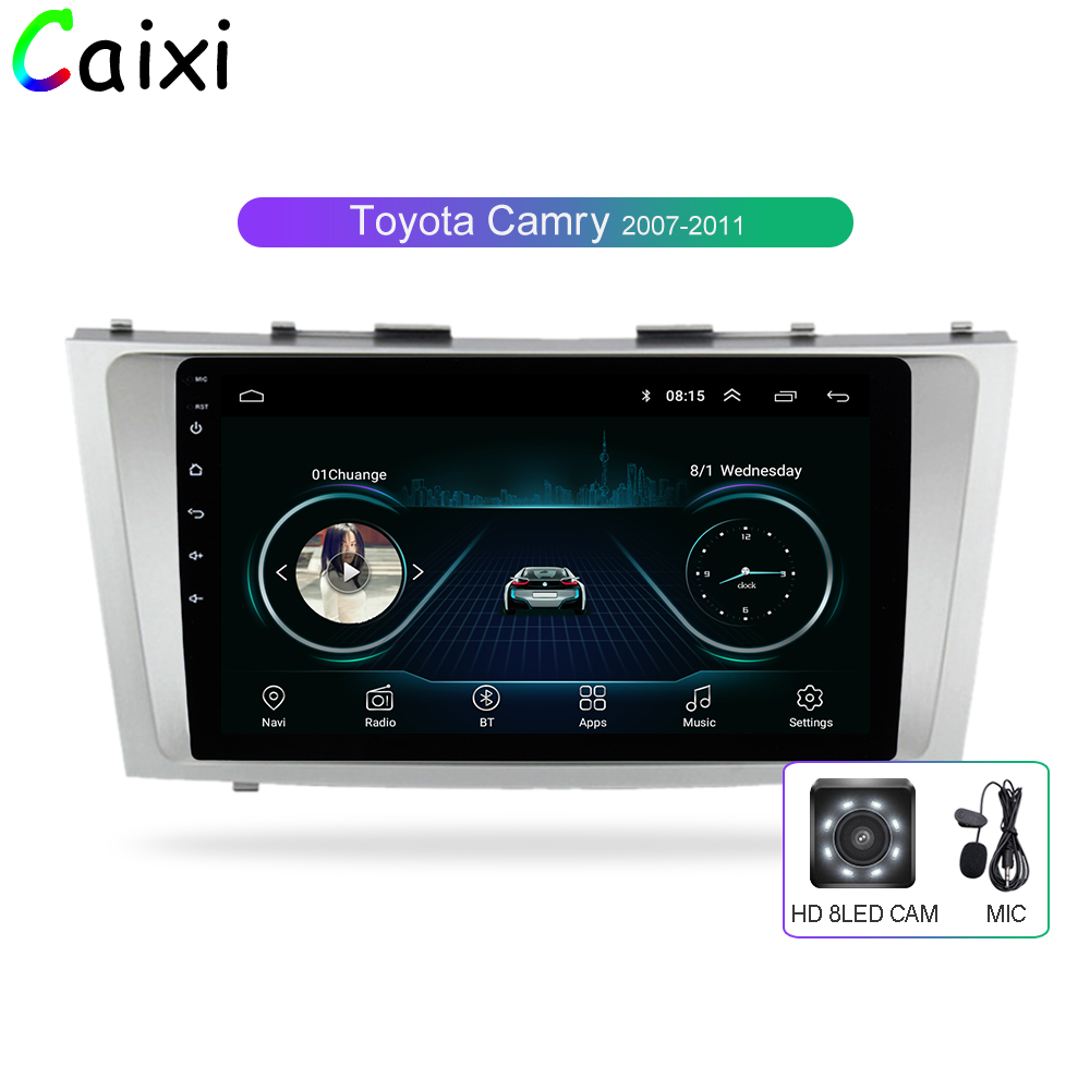 Car Xi 2din 9inch 2 5D Android 8 1 CAR DVD Radio Multimedia Player For Toyota