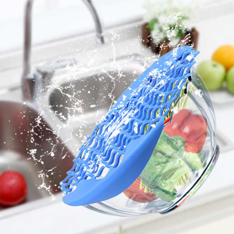 Silicone Degelo Descongelamento da Carne Legumes Fruta Net Net Filtro Multi-Propósito Pad para Carnes Saladas de Frutas Ferramenta Cozinha KC1701