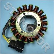 8cebc46800e Magneto bobina 12 V 18 bobinas 3 + 2 Pasadores cfmoto refrigerado por agua  cf188 cf500 18 polos del estator UTV ATV buggy Go Kar.
