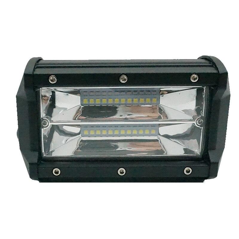 5 inch Work Light Bar 72W 12V 6000K Car LED Bulb Fog lamp Day running light for Off road Trucks 4x4 Tractor Moto Headlight