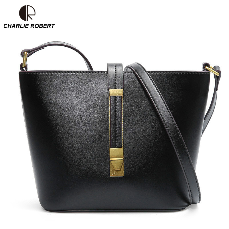 2019 New High  Quality Leather Elegent Luxury Design Bucket Three Colors Shoulder Bag Summer Fashion Style Crossbody Bags2019 New High  Quality Leather Elegent Luxury Design Bucket Three Colors Shoulder Bag Summer Fashion Style Crossbody Bags