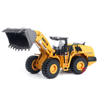 Tractor Digger Crane Bulldozer Durable Excavator Construction Truck Toy Car Engineering Truck Bulldozer Car Toys for Boys PGM123