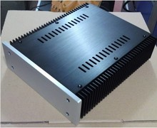 WANBO Audio 2107- Full chassis amplifier / headphone / preamplifier aluminum amplifier enclosure diy amp chassis 212*70*257mm