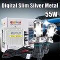 AC 12V G55 55W h4 bi xenon hid slim kit 6000k H13 9004 9007  HI LO BULB HID bixenon kit 4300K 5000K 6000K 8000K 10000K 12000K