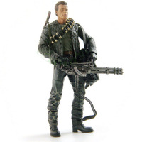 Classic Movie Arnold Schwarzenegger Doll NECA The Terminator 2 T800 Cyberdyne Showdown Model Action Figure Toy