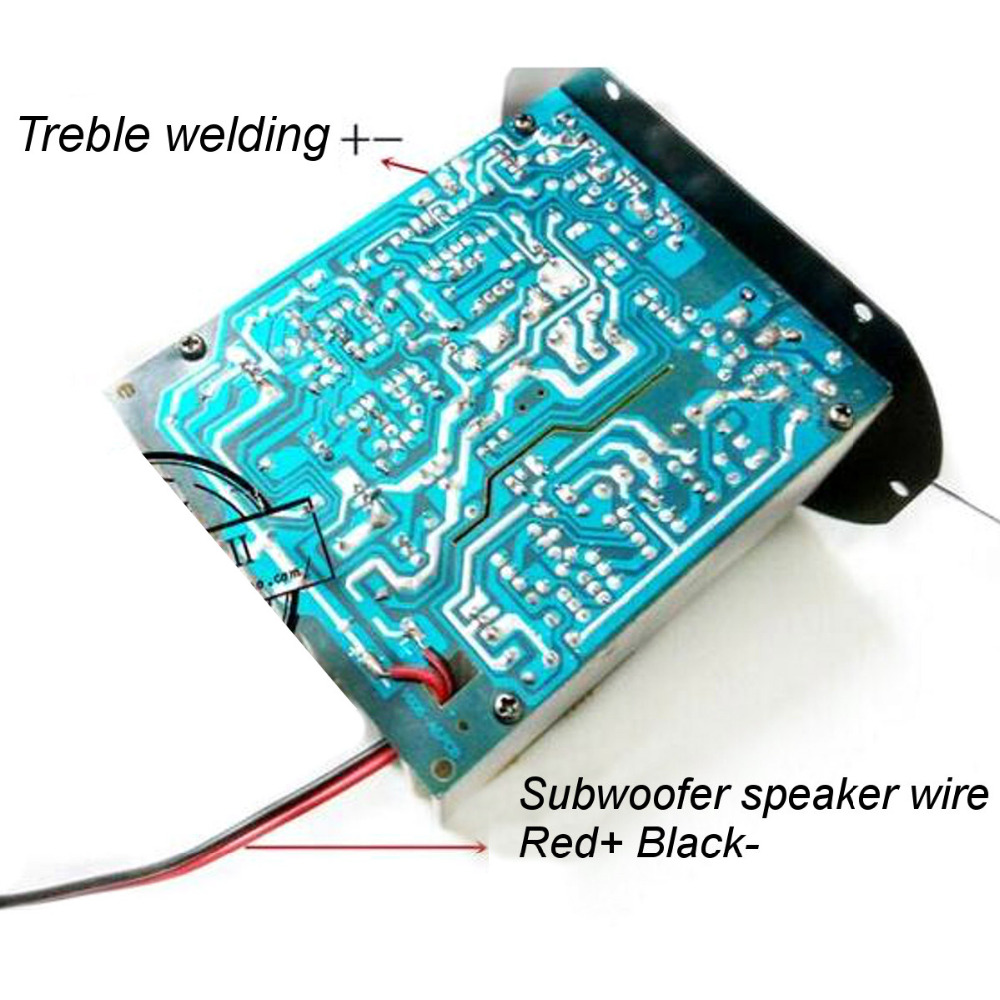 220V Car Bluetooth 2.1 Hi Fi Bass Power AMP Mini Auto Car Amplifier ...