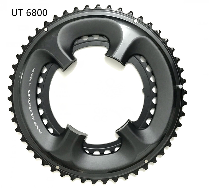 11 Spd Black Shimano 105 FC-5800 Chainring 52T for 52-36T FC-6800 Usable