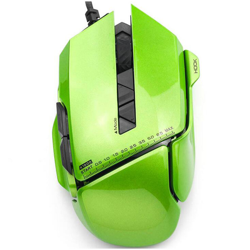 USB 2.0  James Donkey 007 Gaming Wired Mouse For LOL Speed with Free Driver Perfect lighting system Comfortable Hand peter james perfect people
