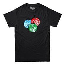 2019 Nieuwe Zomer Casual T-shirt Kerst Bal Ornamenten-sneeuwvlokken-t-shirt