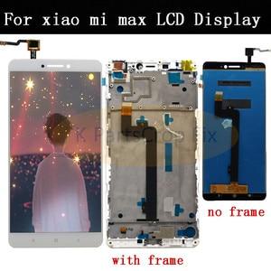 Image 2 - 6.9 XIAOMI Mi מקסימום 3 LCD תצוגת מסך מגע Digitizer עצרת החלפת מסך עבור Mi מקסימום LCD תצוגה עם מסגרת