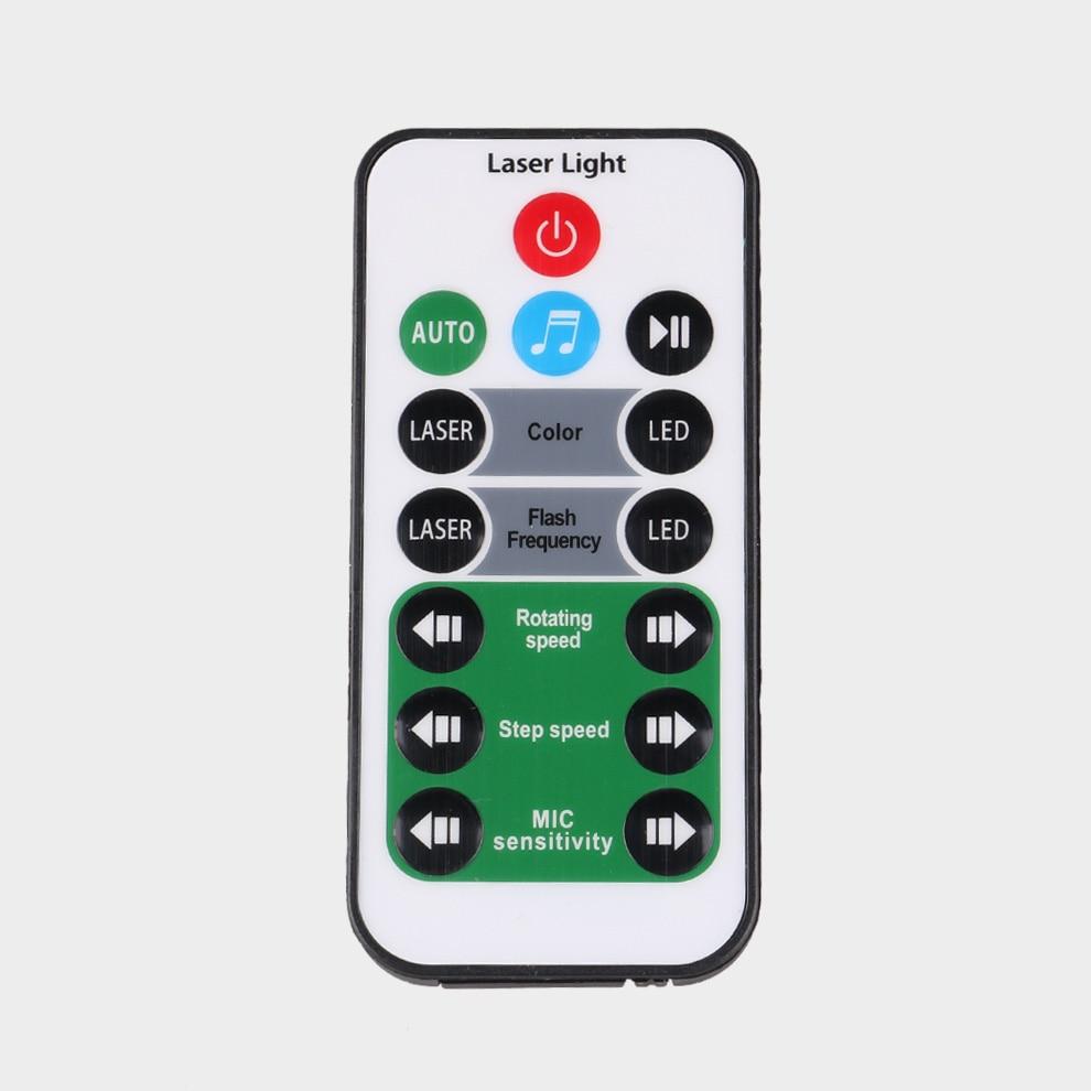 14 Keys IR Remote Controller For ALIEN Laser Stage Light Projector D Series DA Series Model