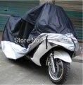 A25 2015 caliente-venta Más Nuevo Al Aire Libre UV Protector Moto Lluvia de Polvo Cubierta de La Motocicleta Impermeable XXL