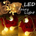 150CM/3m/5m LED String Lights Battery Operated Multicolor Ball Fairy Light Party Christmas Wedding Indoor Outdoor Lighting