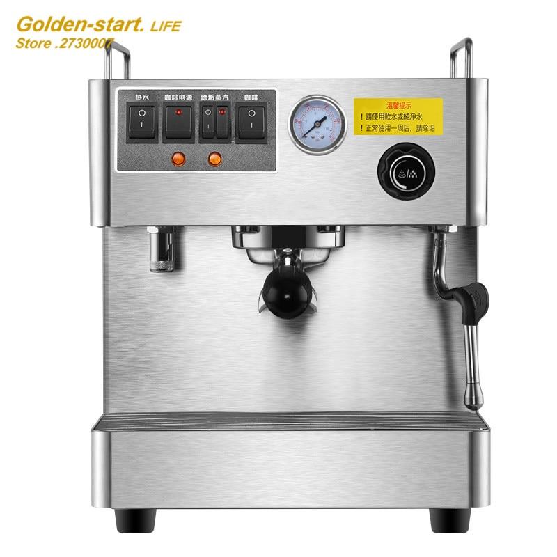 Commerical Office Espresso Coffee Machine Fully Automatic 3000W Steam High Pressure Italian Coffee Maker Coffee Machine