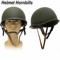 New Replica WW2 M1 US Army Military Metal Helmet for Hunting Airsoft Protective Helmet