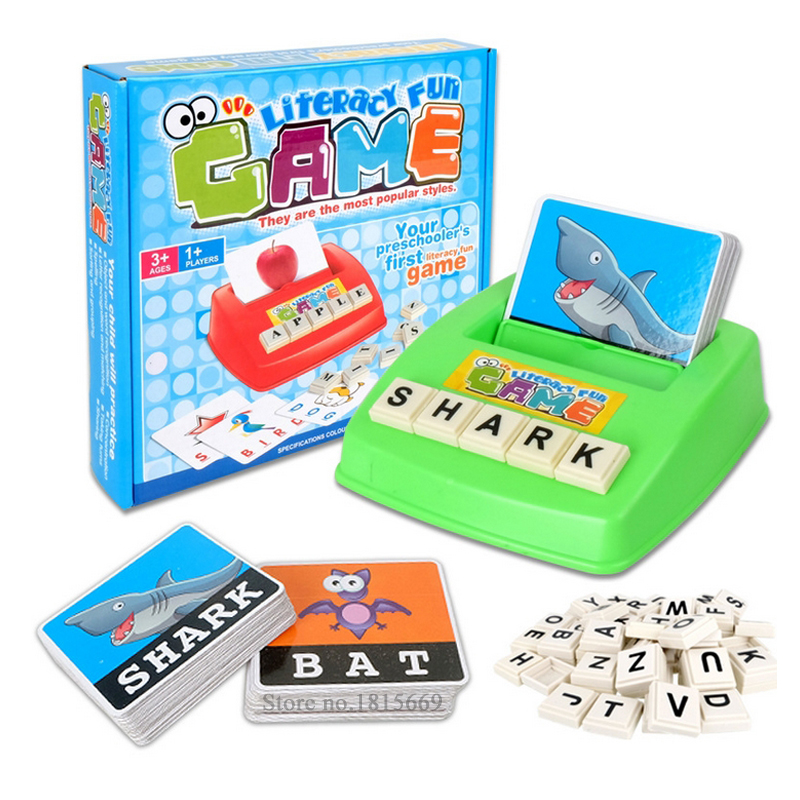 Toys For Cards : Matching letter game alphabet letters card word fun