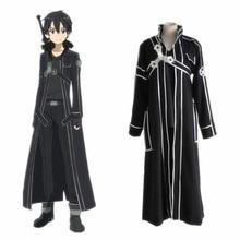 Sword Art Online Kirito Cosplay Costume Coat In