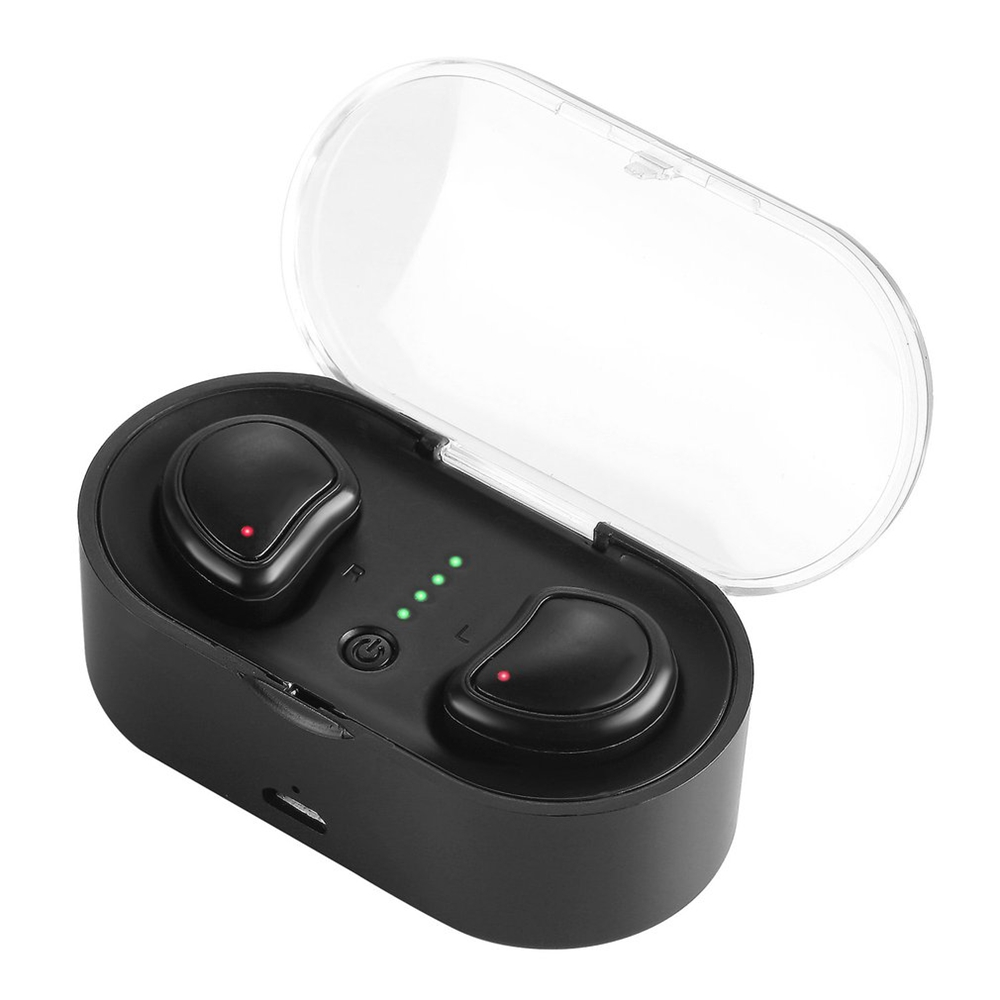 Mini Twins True Wireless Bluetooth earbuds Mini stereo Bluetooth Handfree Earphone Headset with Charging Box for phones