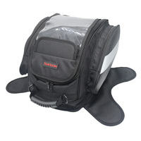 Off Road Nylon Motocycle Tank Bag Waterproof Cover 4 Pockets Sports Travelling Bag Magnetic Saddlebag Alforjas