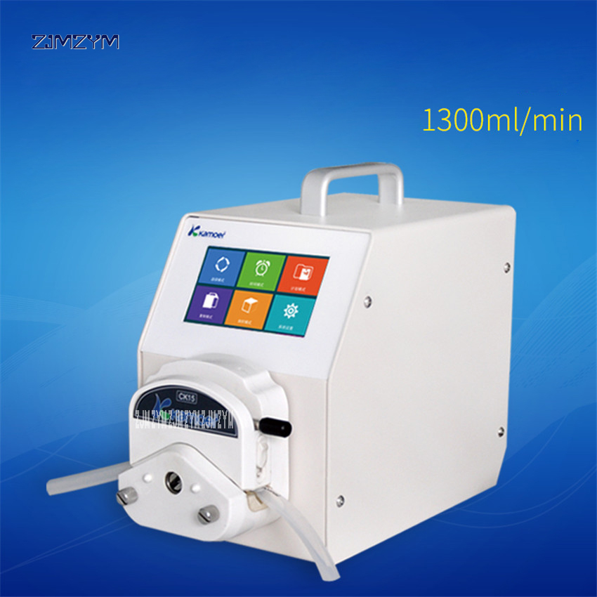Lab UIP digital peristaltic pump dispenser 110-220V Intelligent peristaltic pump industrial self - priming pump large flow pump industrial peristaltic pump n6 3l 0 211 3600 ml min 0 1 600 rpm rs485