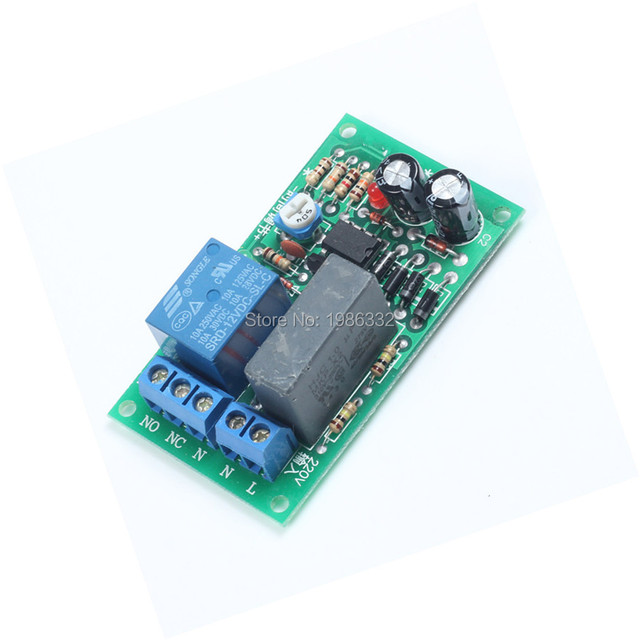 US $2 37  WS16 AC 220V Trigger Delay Time Timing Relay NE555 Module Delay  Timer Turn Off 0 ~ 200 seconds Adjustable Switch-in Relays from Home