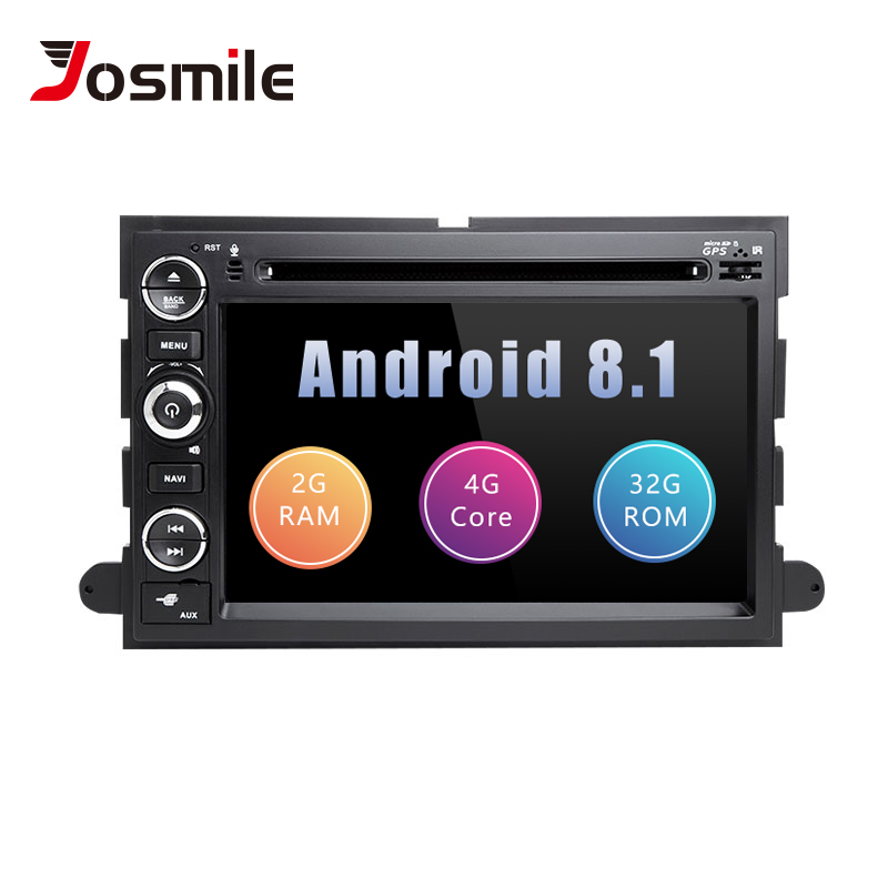 2 din Android 8.1 DVD de voiture pour Ford Escape Mustang Ford F150 F250 Fusion Expedition Explorer 2005 2008 AutoRadio GPS Navigation2 din Android 8.1 DVD de voiture pour Ford Escape Mustang Ford F150 F250 Fusion Expedition Explorer 2005 2008 AutoRadio GPS Navigation