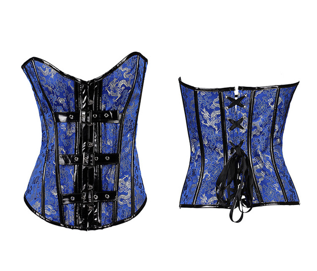 Sexy Women Steampunk Clothing Gothic Plus Size Corsets Lace Up boned Bustier Waist Cincher Kopcet Body Shaper Corselet Bodices