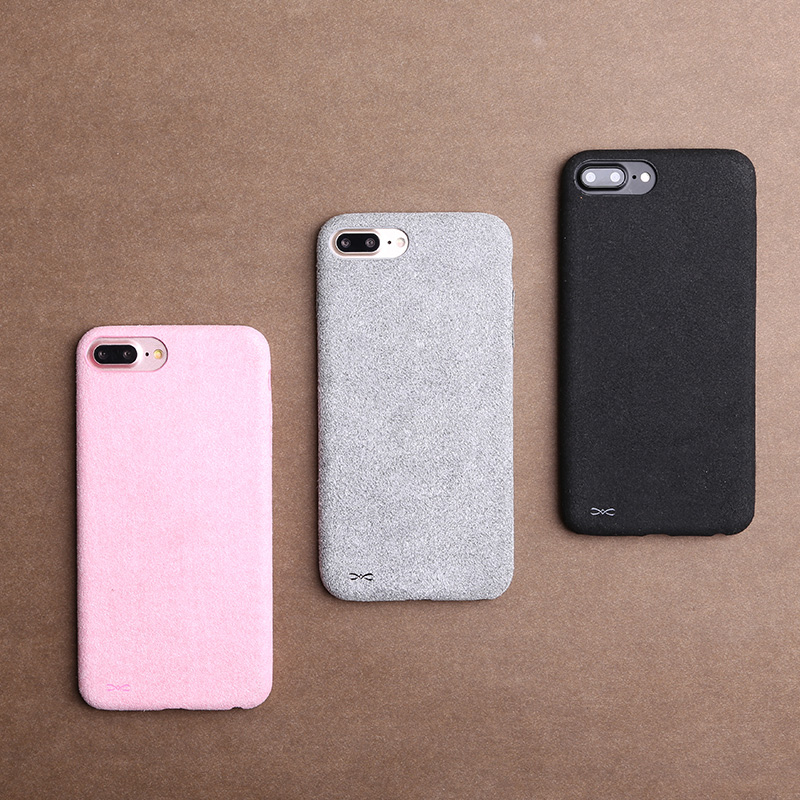 Franela de lujo de la cubierta case para iphone 6 6s de cuerpo completo accesori