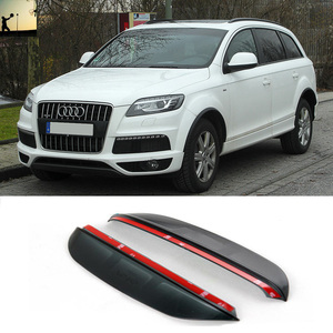 FOR AUDI Q7 From 2005 to 2015 rearview mirror rain eyebrow Rainproof Flexible Blade Protector Car Styling