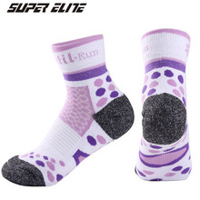 Women Sports Socks (3 Pairs/lot) SUPER Elite/1007 Cotton Running Outdoor Hiking