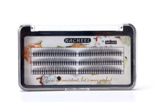 Lucky Flower Racheel Mix Length False eyelashes C Curl Fake Eyelash Extension Natural 0.1mm Thickness 6/8/10/12mm Options