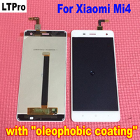 Original Best Quality Tested LCD Display + Touch Screen Digitizer Assembly For Xiaomi mi4 m4 mi 4 cell phone Replacement Parts