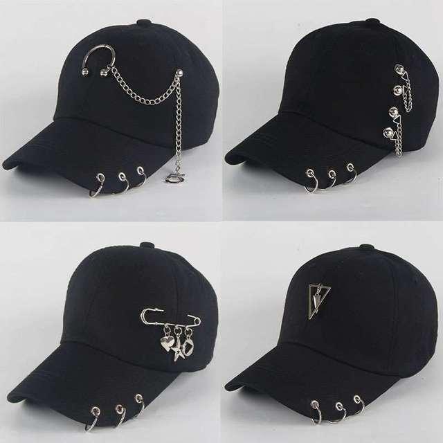 Hermosas gorras béisbol BTS anilladas ajustables Unisex