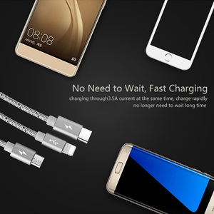 Image 3 - llano USB Type C Fast Charging usb c cable Type c data Cord Phone Charger For ipad pro Samsung S9 S8 Note 9 pocophone F1 Xiaomi