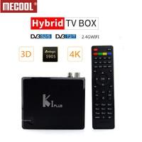 MECOOL KI PLUS DVB T2 DVB S2 DVB C Android 7.1 TV Box 4 in 1 Combo 1GB 8GB Amlogic S905D Quad Core 64bit K1 PLUS 4K Set top Box
