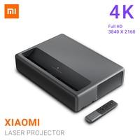 Xiaomi Mijia Laser Projector ALPD 3D projector 4K 5000 Lumens T968 H Cortex A53 4 Core 3840 X 2160 TV Home Theater Projector
