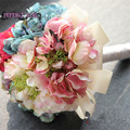High Quality  HydranBridal Bouquet  Wedding Party Table Centerpiece,Home Decoration Free Shipping