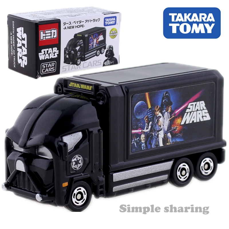 Takara Tomy Tomica Star Cars Truck Model Kit Diecast Miniature Car Toy Hot Pop Baby Toys Collectibles Magic Kids Doll