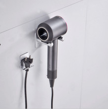 Hair Dryer Holder Wall Mount Compatible with Dyson Dryer, 304 Stainless Steel Storage Organizer