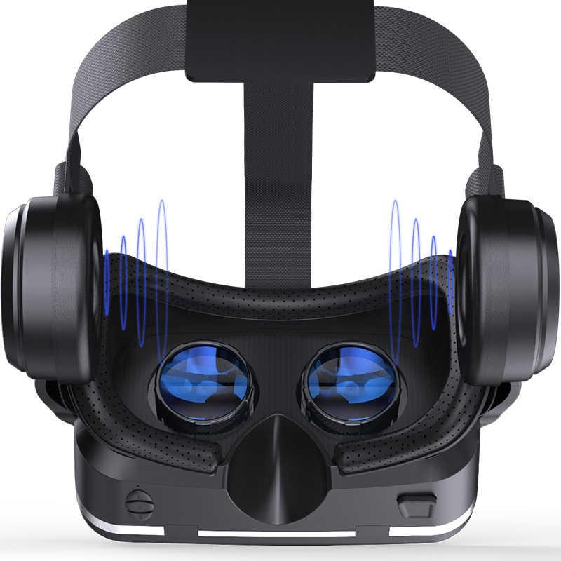 Оригинальная VR shinecon 6,0 стандартная версия и гарнитура Версия виртуальной реальности 3D гарнитура для очков виртуальной реальности шлемы дополнительный контроллер