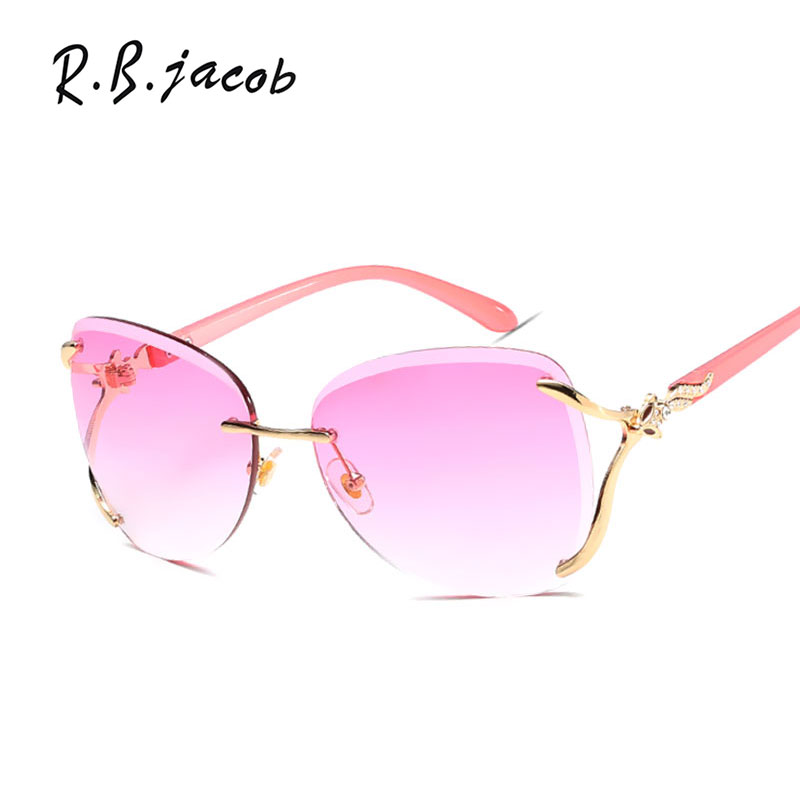 2017 Hot Sale Luxurious Women Sunglasses Oversize Brand Designer High Quality Lady Sun Glasses Goggle UV400 Vintage Eyeglasses