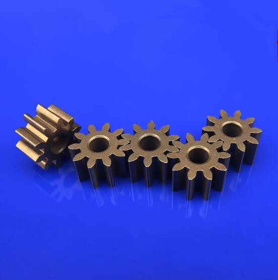 10pcs/lot Metal Gears Iron Gear 0.5 Module 9/10 Teeth Pore Size 2.3mm Vehicle Transmission Gear