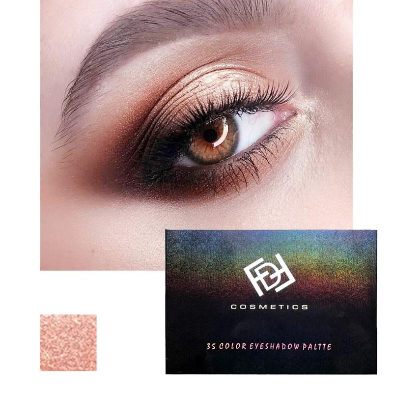 Smoky/Warm Makeup Eye Shadow 35 Color Eyeshadow Palette Silks