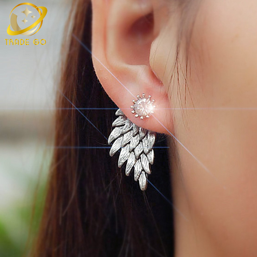 angle wings earrings for womens