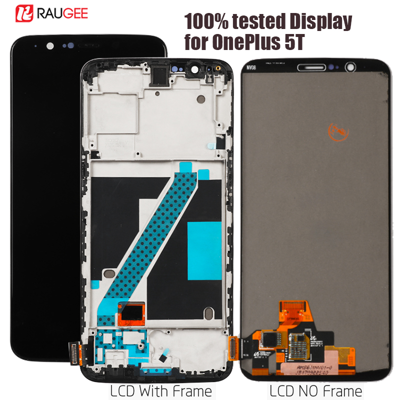 display for Oneplus 5T LCD Screen Replacement for Oneplus 5T 5 T Display Lcd Touch Sensor