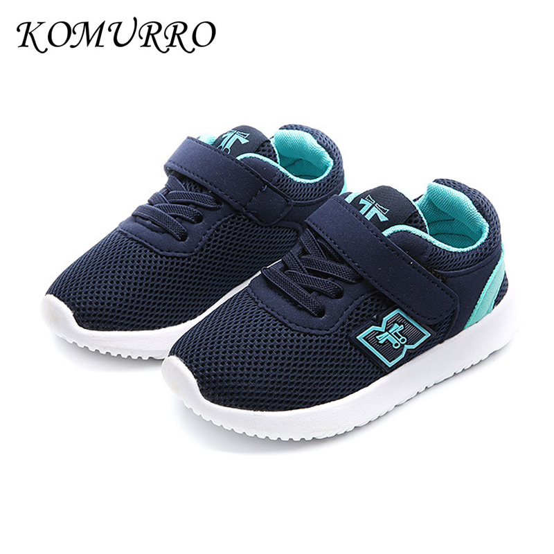 MREIO Letter Dont Panic Childrens 3D Print Fly Knit Shoes Breathable Loafers Sneakers For Girls