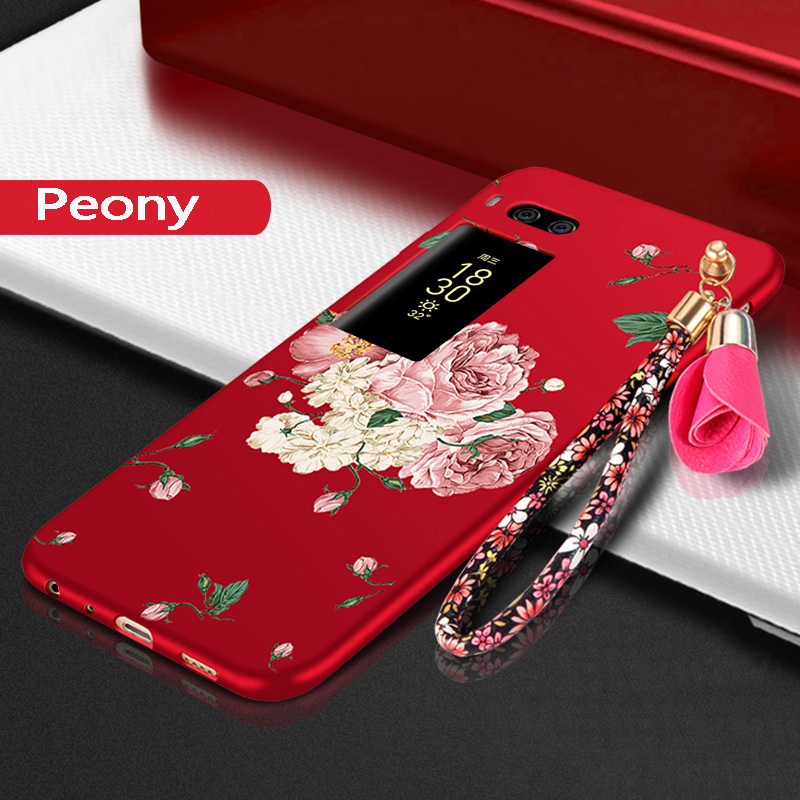 For Meizu Pro 7 Case Cover For Meizu Pro 7 Plus Case tpu 3d Flower full Protection silicone Back Phone Cover For Meizu Pro7 Plus
