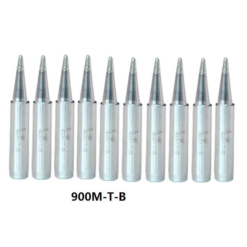 10pcs 900M series Soldering Iron sting Tips for Hakko, ATTEN, QUICK, Aoyue, Yihua Soldering Station Solder melting Tips 10pcs solder iron tips for hakko soldering rework station